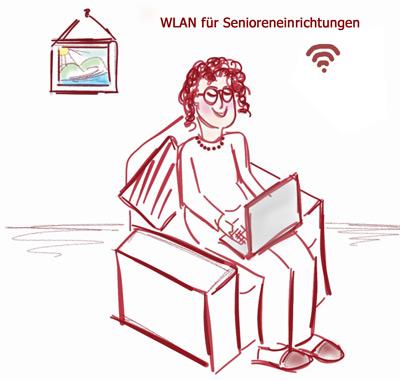 WLAN für Senioreneinrichtungen farbig web