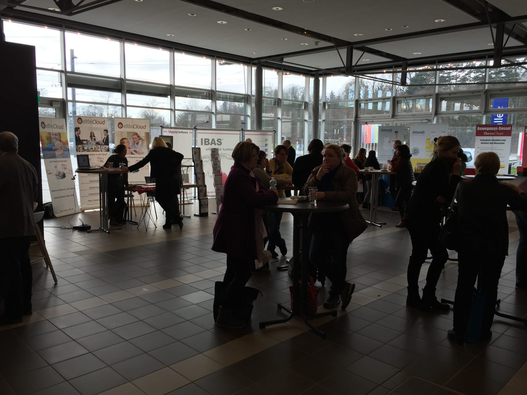 Messe Ulm Ausstellung eitie für die Sozialwirtschaft