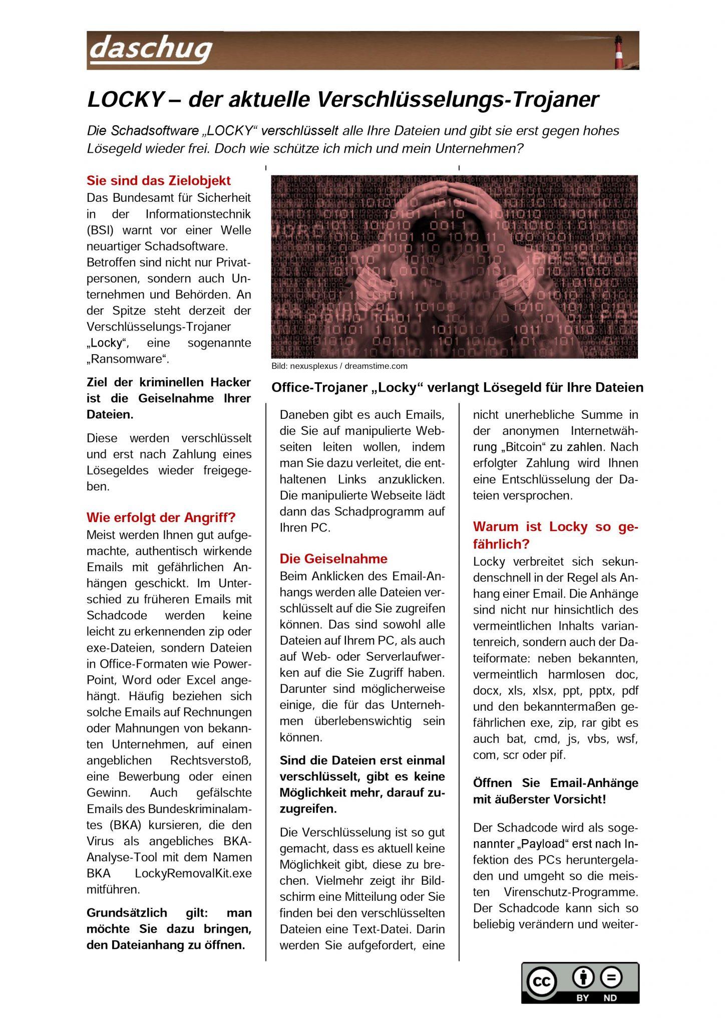 Warnung Schadsoftware Teil1